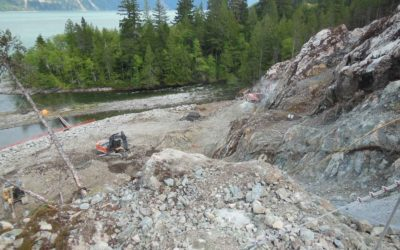 Treway Creek Hydroelectric – Powerhouse Excavation